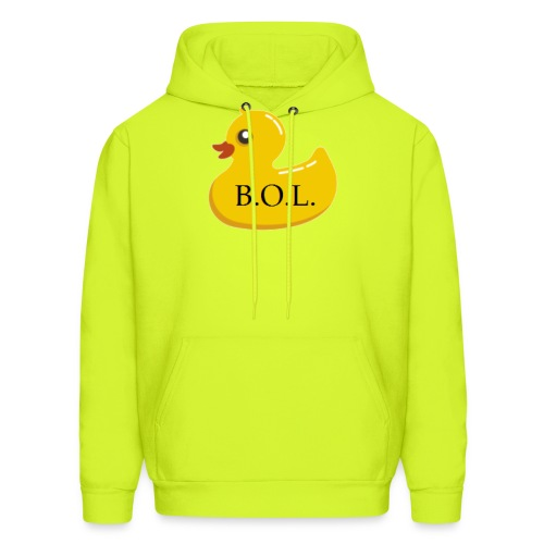 Official B.O.L. Ducky Duck Logo - Men's Hoodie