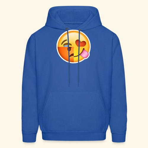 E Tees , Unique , Love , Cry, angry - Men's Hoodie