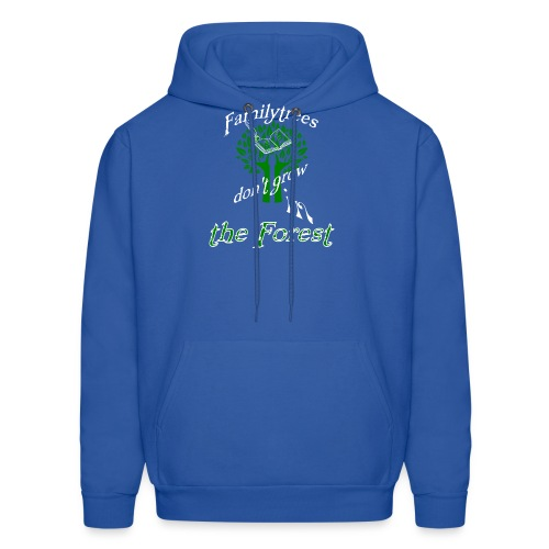 genealogy family tree forest funny birthday gift - Men's Hoodie