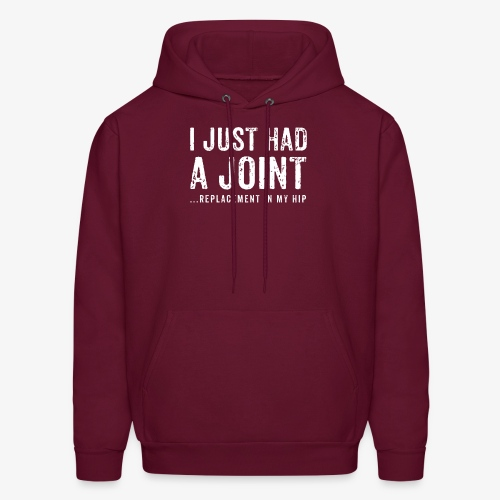 JOINT HIP REPLACEMENT FUNNY SHIRT - Men's Hoodie