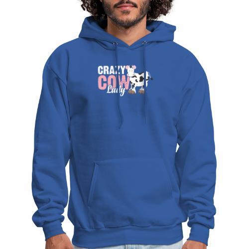 CRAZY COW LADY - Men's Hoodie