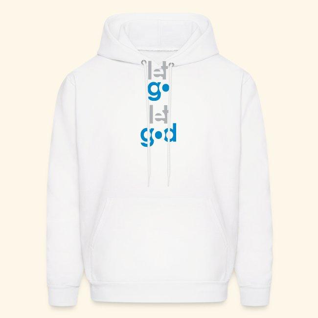 LET GO LET GOD GREY/BLUE #7