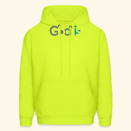 GOD IS #3 - Men's Hoodie
