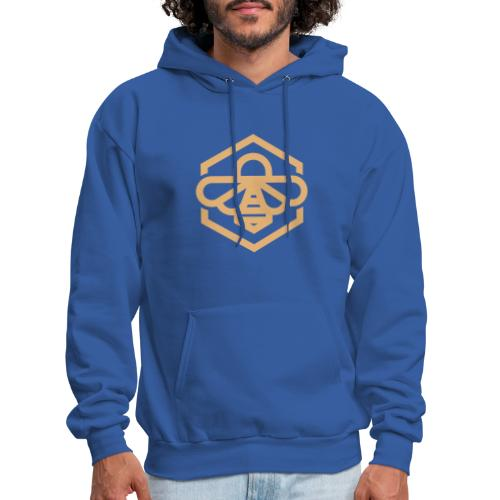 bee symbol orange - Men's Hoodie