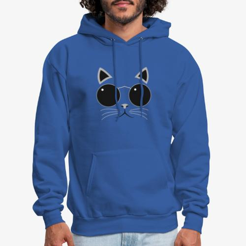 Hipster Cat T-Shirt - Men's Hoodie
