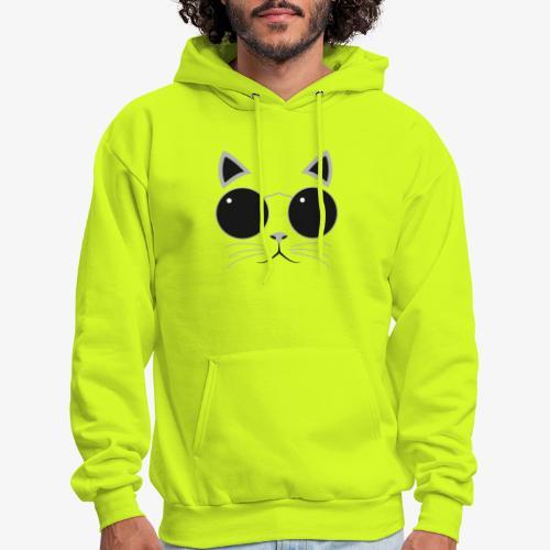 Hipster Cat T-Shirt - Men's Hoodie