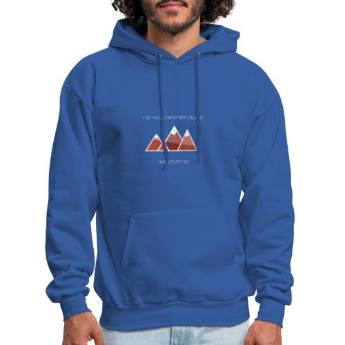 The Mountains - Inverted - Men's Hoodie