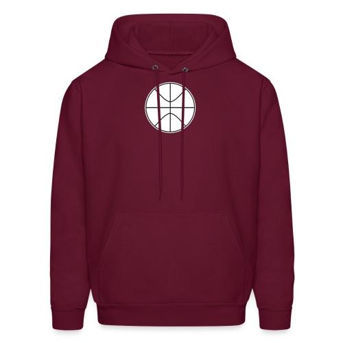 Basketball black and white - Men's Hoodie
