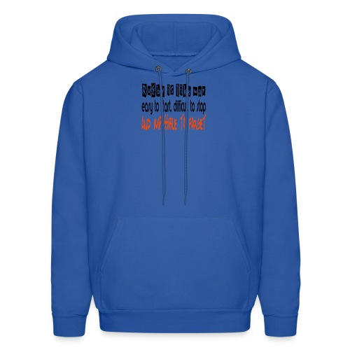 Rugby like war - Men's Hoodie
