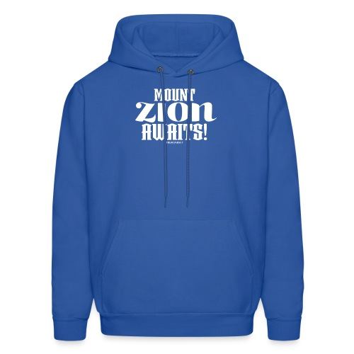Mount ZION Awaits - Men's Hoodie