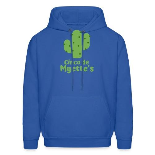 Cinco de Myette's Cactus Design - Men's Hoodie
