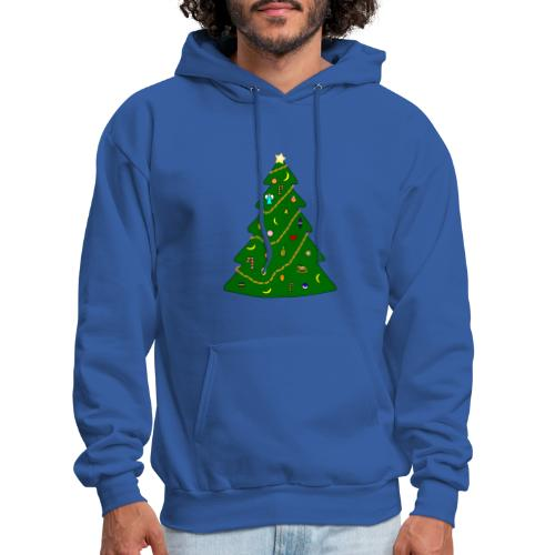 Christmas Tree For Monkey - Men's Hoodie