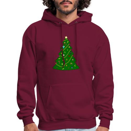 Christmas Tree For Monkey - Men's Hoodie