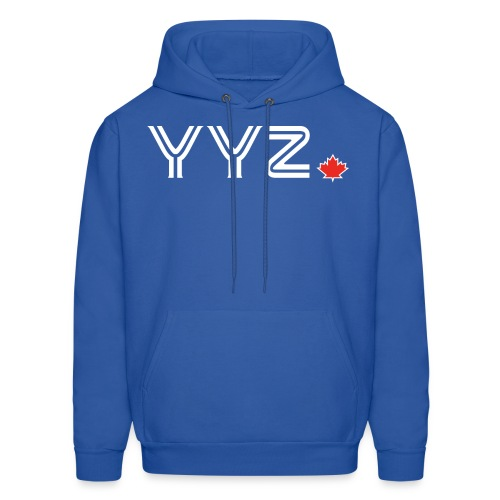 YYZ-Leaf-White - Men's Hoodie