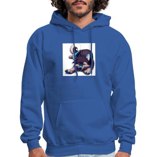 cute wolf - Men's Hoodie