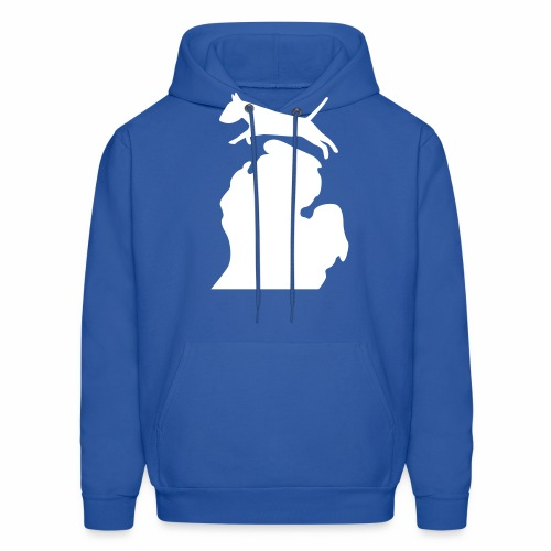Bull terrier michigan shirt womens - Men's Hoodie