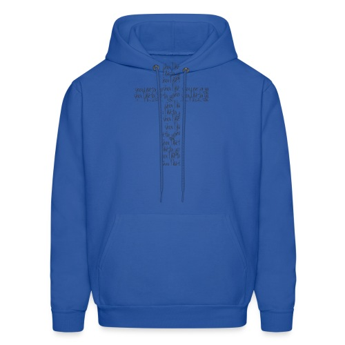 Jesus, I live for you! - Men's Hoodie
