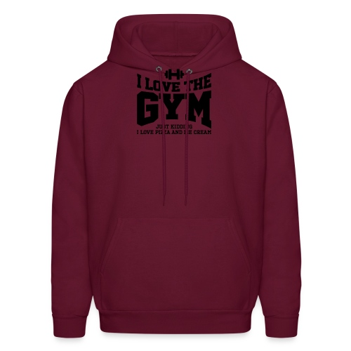 I love the gym - Men's Hoodie