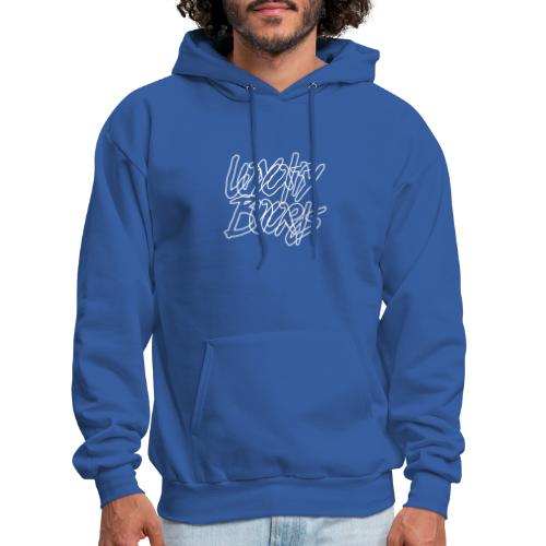 Loyalty Boards White Font - Men's Hoodie