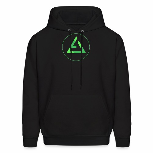 crypto logo branding - Men's Hoodie