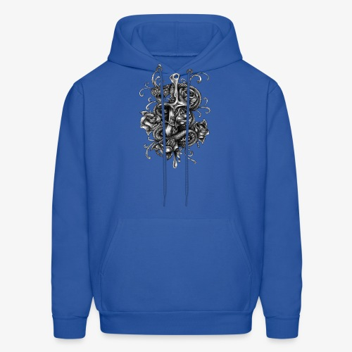 Dagger And Snake - Men's Hoodie