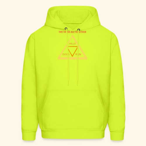 Run4Dogs Triangle - Men's Hoodie