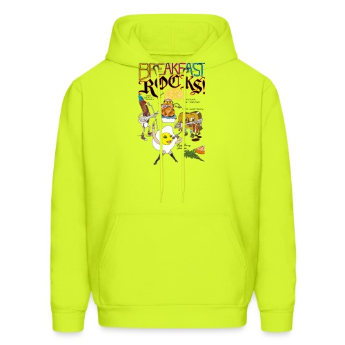 Breakfast Rocks! - Men's Hoodie