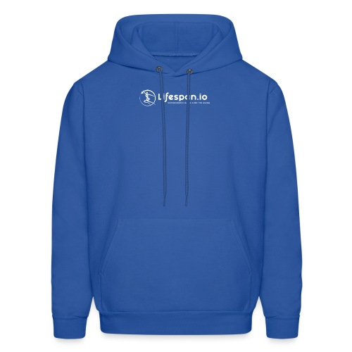 Lifespan.io in white 2021 - Men's Hoodie