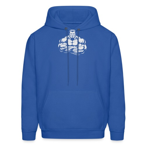 An Angry Bodybuilding Coach - Men's Hoodie