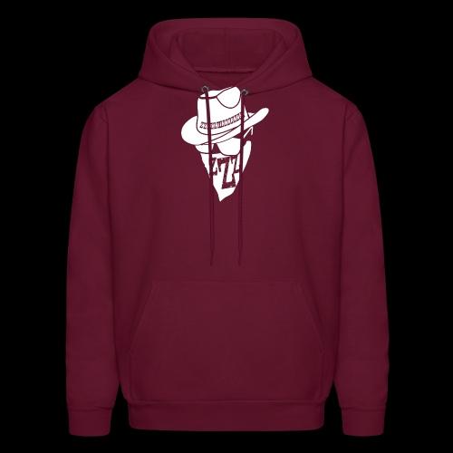 DREAM BANDITS WHITE Large Logo - Men's Hoodie
