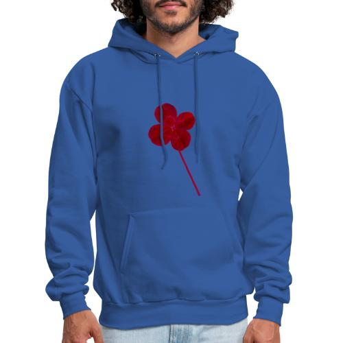 Red Leaf Clover - Men's Hoodie