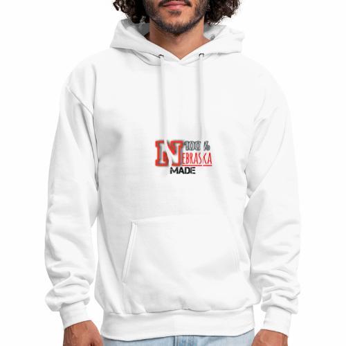 100% Nebraska Made Collection - Men's Hoodie