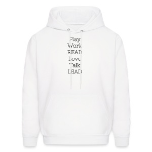Play_Work_Read - Men's Hoodie