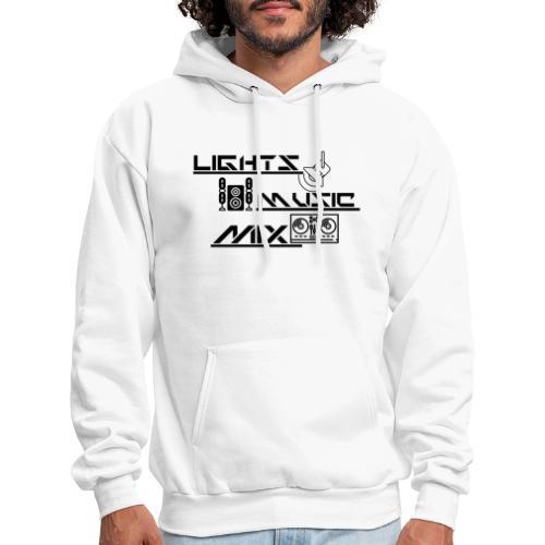 LMM (Black) - Men's Hoodie