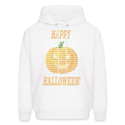 Limited Edition!! Happy Halloween Binary Pumpkin - Men's Hoodie