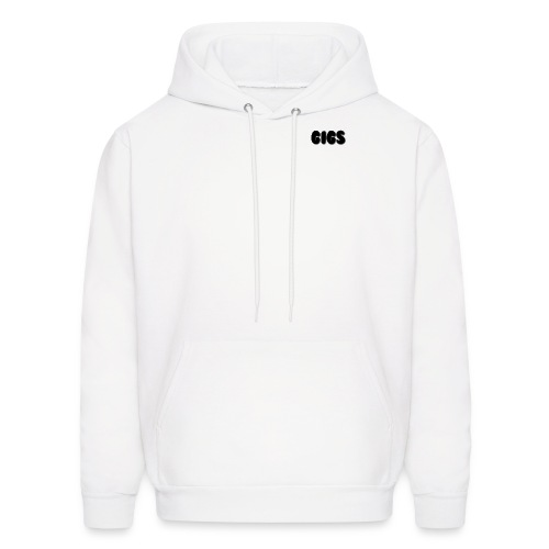 Gigs Black Collection - Men's Hoodie