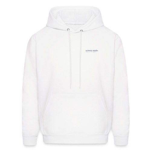 Scientia Sudio (blue logo) - Men's Hoodie