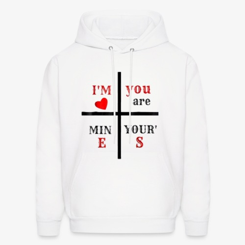 love t-shirt - Men's Hoodie
