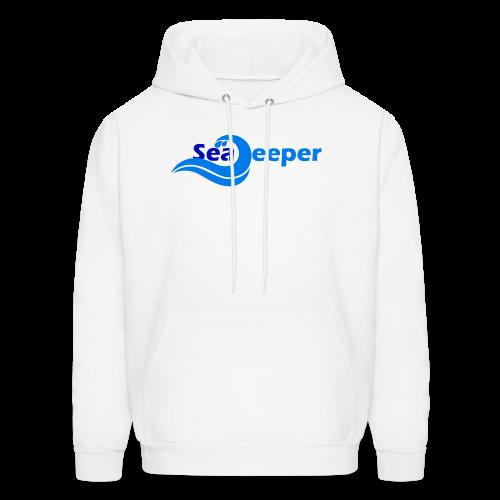Sea Deeper Logo - Men's Hoodie
