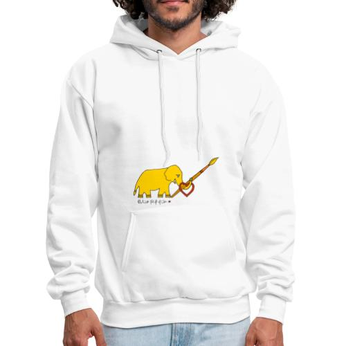 Painting Love by Eliot Raffit - Men's Hoodie