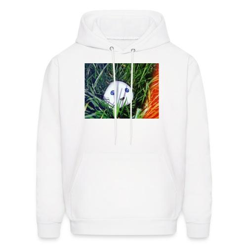 Sebastian in the grass - Men's Hoodie