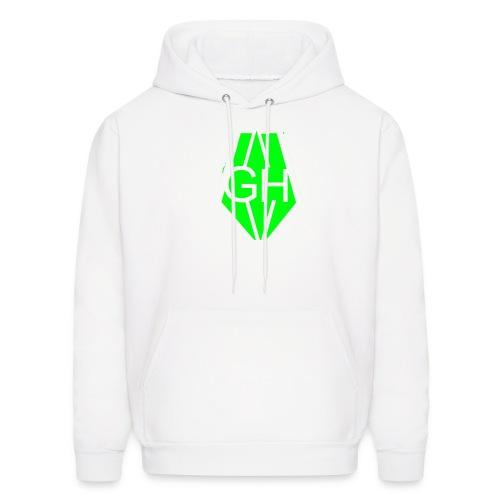 Greenhusky symbol - Men's Hoodie