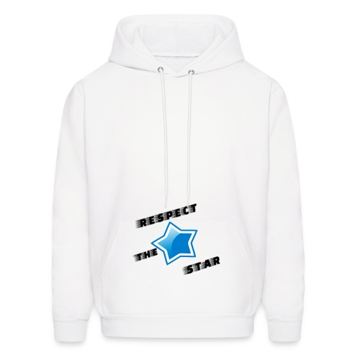 Respect the star! - Men's Hoodie
