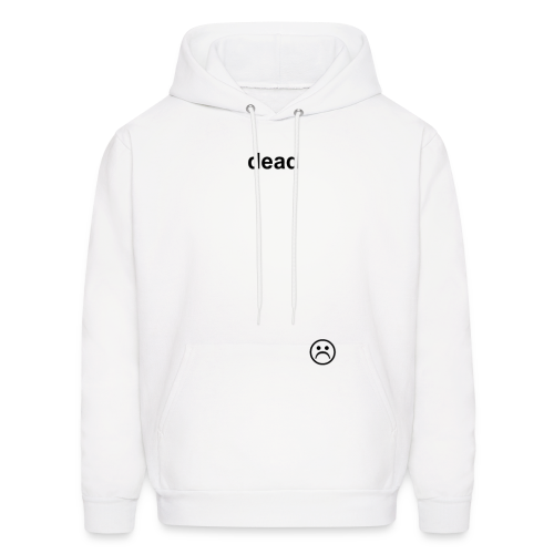 dead WHITE - Men's Hoodie