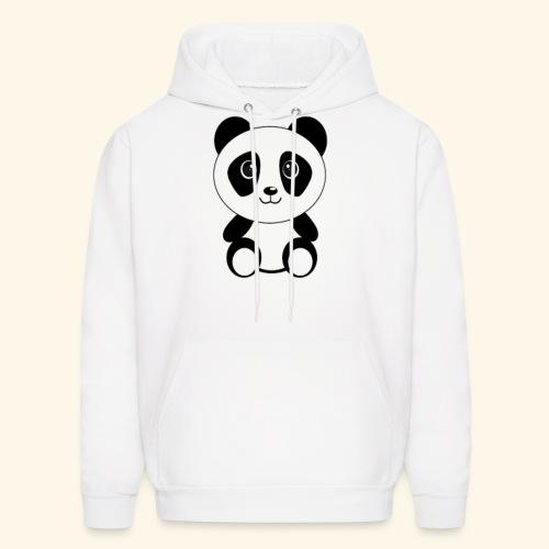 PANDA GENTIL - Men's Hoodie