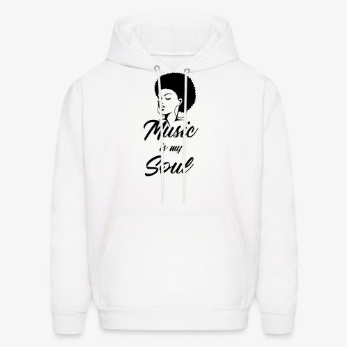 Music Is My Soul - Men's Hoodie