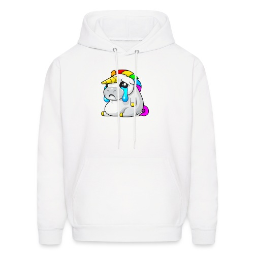 Alasdair unicorn crying - Men's Hoodie