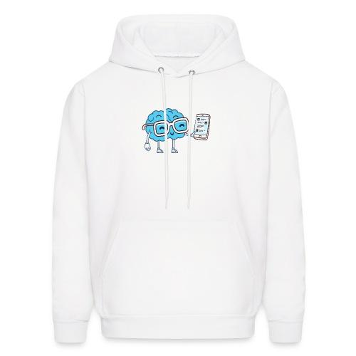 Cartoon Brain - Men's Hoodie