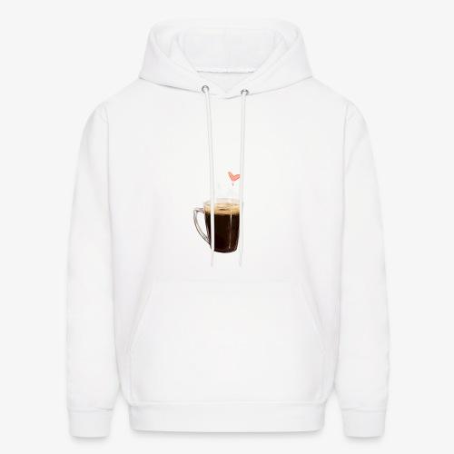 Coffee Cup LOVE - Men's Hoodie
