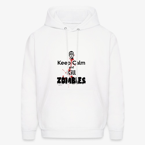 keep calm and kill zombies - Men's Hoodie